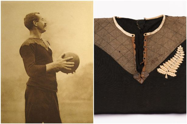 The Original All Blacks Rugby Jersey