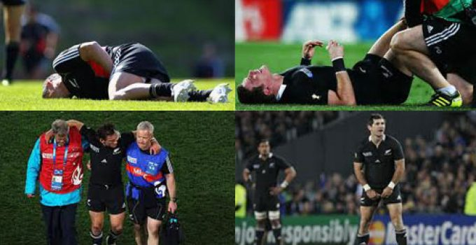2011 Rugby World Cup All Black Injuries