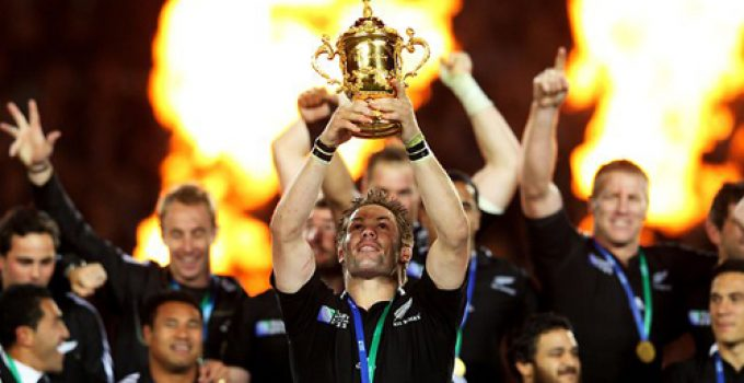 New Zealand All Blacks Win 2011 Rugby World Cup